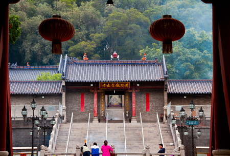 main gate: Temple of Guanyin Editorial