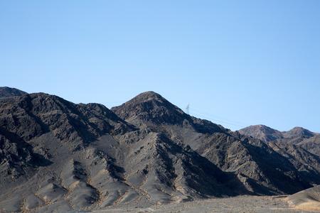 road autumnal: Mountain Stock Photo