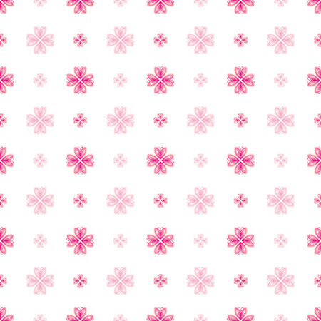 페이드: Pink Valentine Heart Pattern_between clear and fade 일러스트