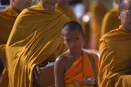 Buddhist Thai Monks Collections