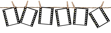 Transparency films as background