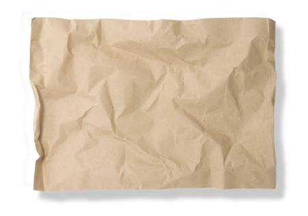 Blank envelope on white background  photo
