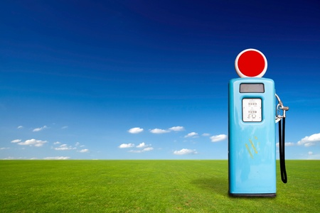Retro gas pump Stock Photo - 11742789