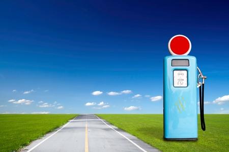 outbound: Retro gas pump