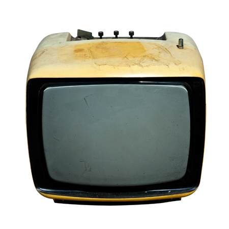 Retro, the old television. photo
