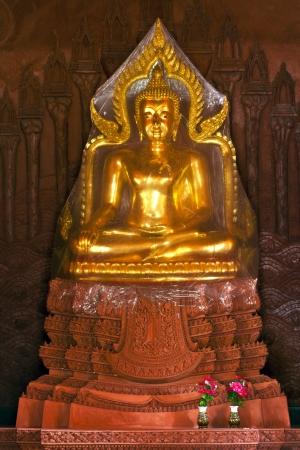 The golden buddha, on Samui island, Thailand photo