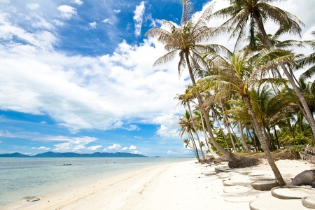 Koh Samui the famous lanmark island in Thailand