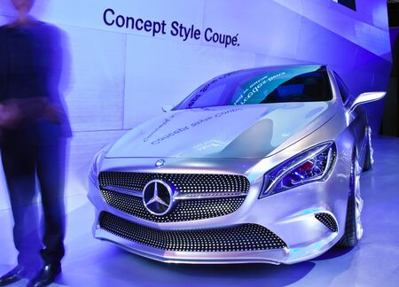 NONTHABURI, THAILAND - MARCH 26: Mercedes Benz Concept Style Coupe showed in 34th Bangkok International Motor Show on March, 2013 in Nonthaburi, Thailand