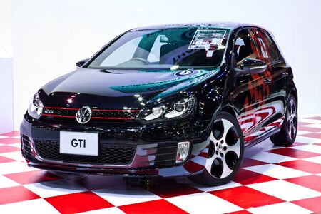 NONTHABURI, THAILAND - MARCH 26 : Volkswagen Golf GTI 2.0 TSI showed in 34th Bangkok International Motor Show on March, 2013 in Nonthaburi, Thailand.