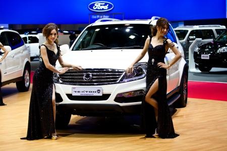 shiny car: new, car, show, thai, auto, fast, model, truck, power, event, wheel, shiny, motor, drive, speed, smart, sedan, style, sport, street, luxury, engine, modern, impact, racing, exotic, concept, bangkok, vehicle, elegant, present, thailand, business, industry,