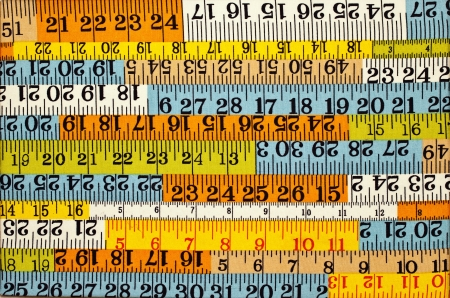 differnt: Status of many differnt color rulers