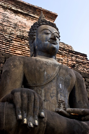 Buddha image in Wat Mahathat photo