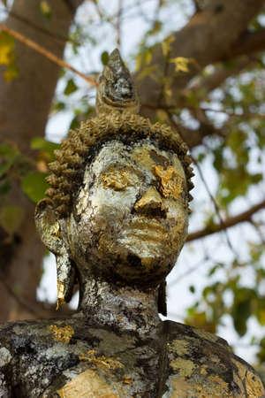 Close-up statue of Buddha  photo