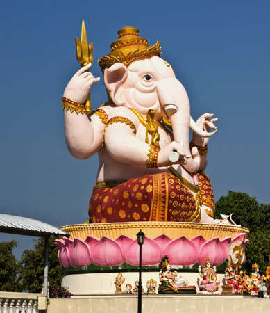 Lord Ganesh in the body  East Thailand  photo