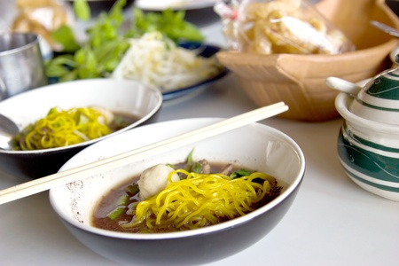 Noodle with Thai General Stock Photo - 13028326