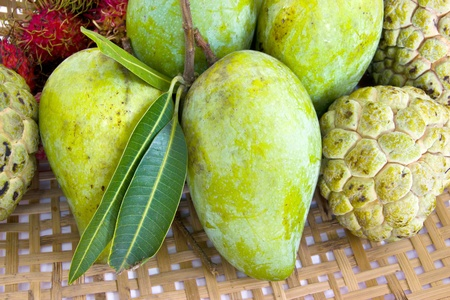 Traditional Thai fruits  photo