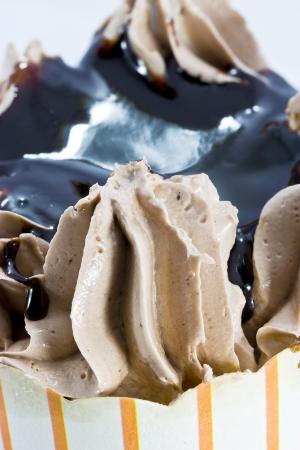 Chocolate cup cake Stock Photo - 15449591