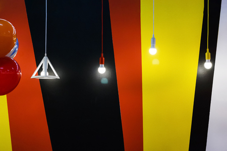 Electricity light lamp hanging decorate home interior