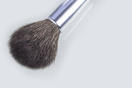close-up. on white background. Makeup Brush. no insulation