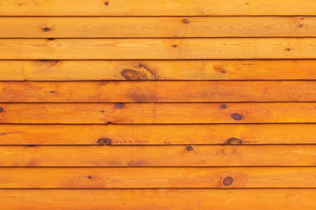Texture. Smooth, street lighting Wooden boards Painted yellow Archivio Fotografico