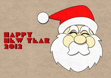 kris: graphic santa,happy new year