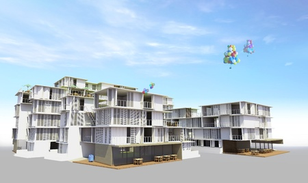 Residencial rendered1 photo