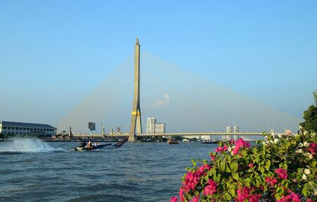Bangkok Rama VIII bridge        photo