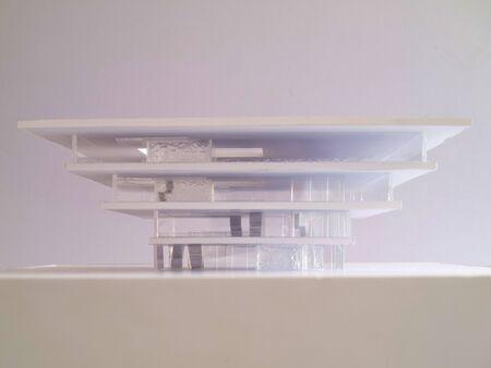 architectural conceptual model Stock Photo - 12868440