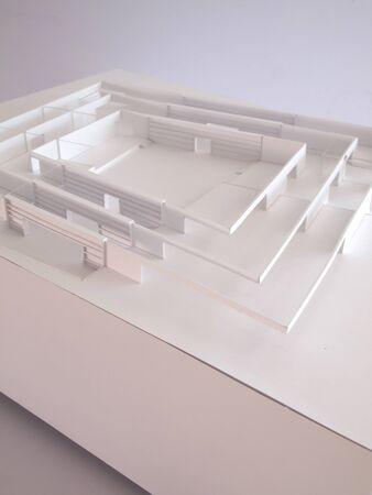 conceptual architectural model Stock Photo - 13153602