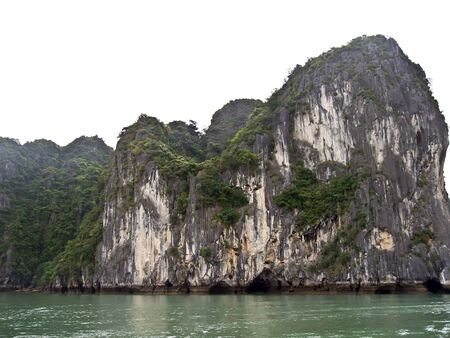 Famous halong bay, vietnam  photo