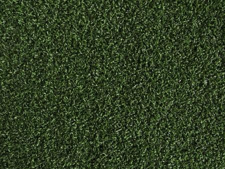 Artificial Grass Field Texture, Top View photo
