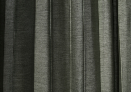 Sunlight Through a Grey Curtain Background Stock Photo - 14414341