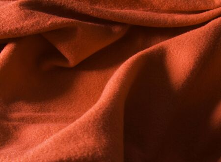 Red fabric as a background  Stock Photo - 14644775