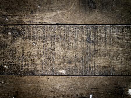 vieille texture de fond du bois, effet de vignette lentille
