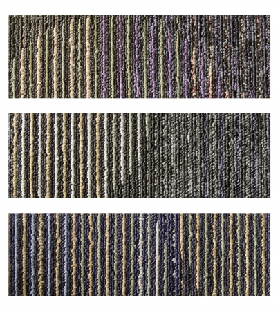 Samples of collection carpet on a white background  photo