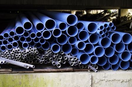 Industrielle Rohre, industriellem Hintergrund Standard-Bild - 15332400