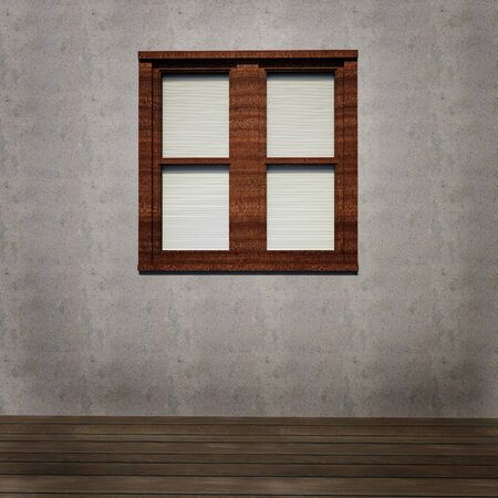Grunge interior background with window Stock Photo - 15390369