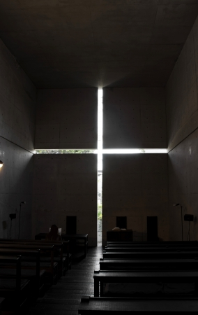 Church of the light  版權商用圖片