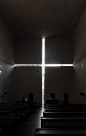Church of the light  Foto de archivo
