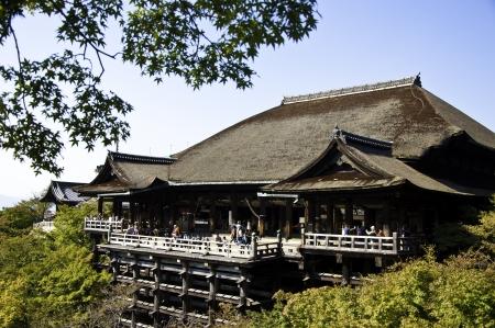 dera: Kiyomizu Dera buddhist temple in Kyoto, Japan