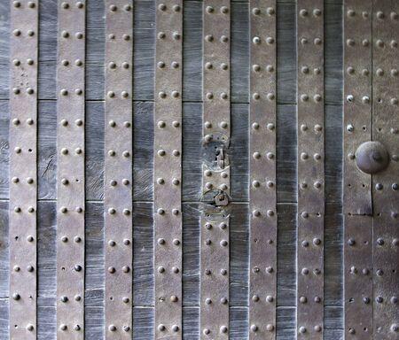 nijo: Metal Door - Nijo Castle, Kyoto, Historic Japan
