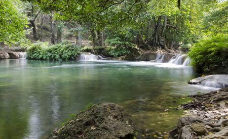 Jed Sao Noi Waterfall in Saraburi, Thailand Stock Photo - 17184149
