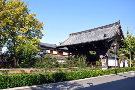 dera: Japnese temple Kiyomizu Dera at Kyoto, Japan  Stock Photo