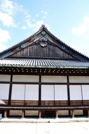 Nijo Castle was built in 1603 as the Kyoto residence of Tokugawa Ieyasu, the first shogun of the Edo Period (1603-1867)