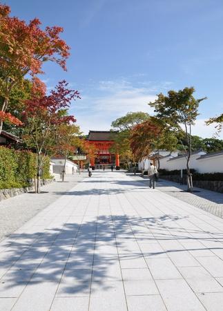 Entrance of Fushimi Inari Taisha Shrine - Kyoto, Japan