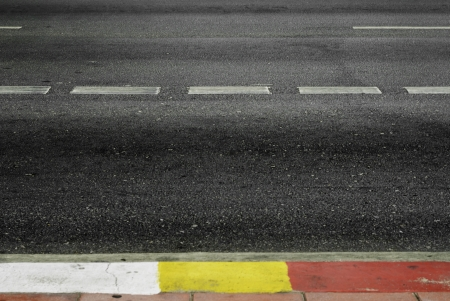 Highway with road markings background  Stock Photo - 18968223