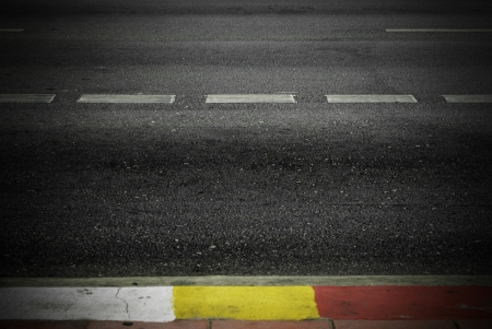 Highway with road markings background  Stock Photo - 19102230