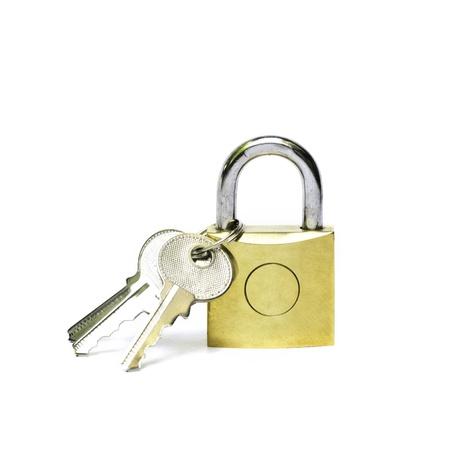 Master key isolated on white background  photo