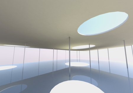 skylight: Abstract skylight of Conceptual architecture Stock Photo