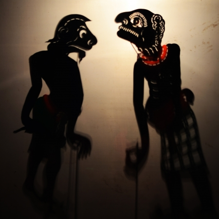 Traditional Thai Shadow Theatre photo